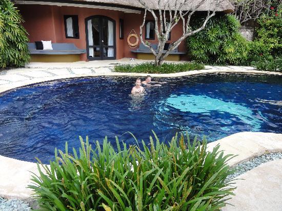 Villa Prana Bali: la chambre de notre fils