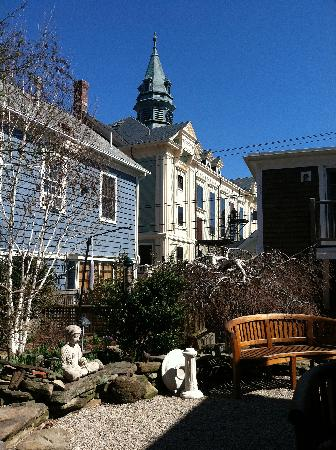 The Provincetown Hotel at Gabriel's: view from the court yard