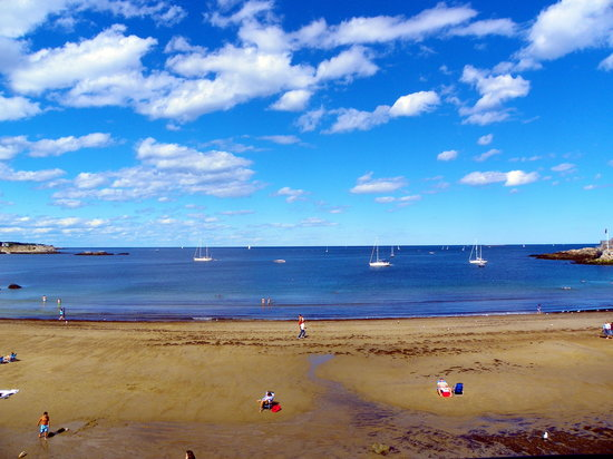 Rockport, MA: Enjoy this view from your deck!