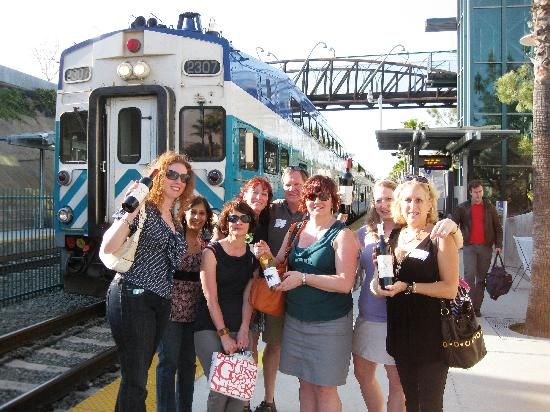 La Jolla Wine Tours Train