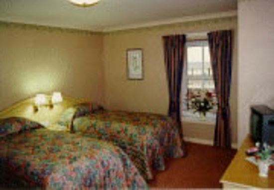 The Station Hotel: Typical bedroom