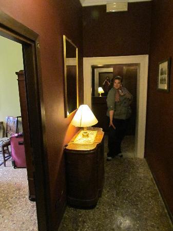 Pensione Guerrato: hallway