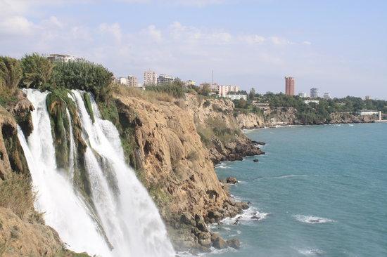 Antalya, Turkije: Duden Falls
