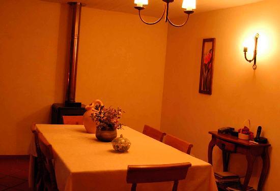 Posada Colchagua: Nuestra mesa del comedor
