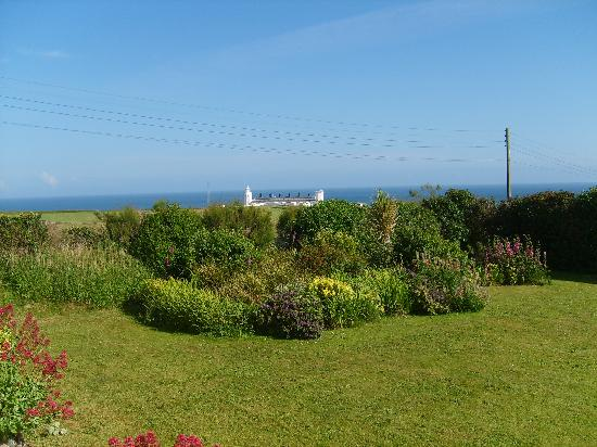 Penmenner House: The Garden, looking towards the Lighthouse