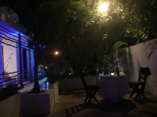 Hotel Latino: Private Dinner on the upper terrace