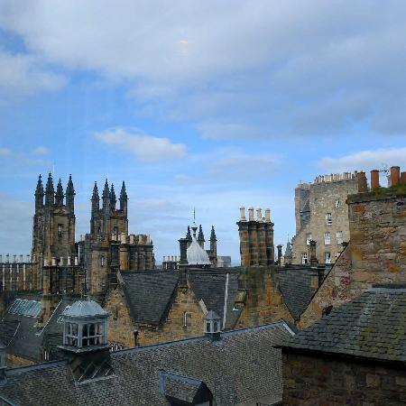 Sandaig Guest House: View from Camera Obscura in Royal Mile