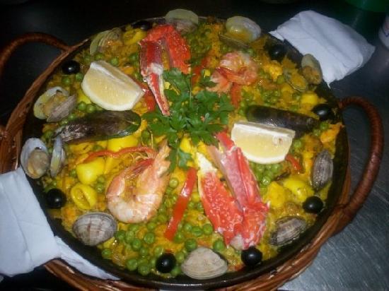 Rocha Mar Restaurante: Paella á Valenciana