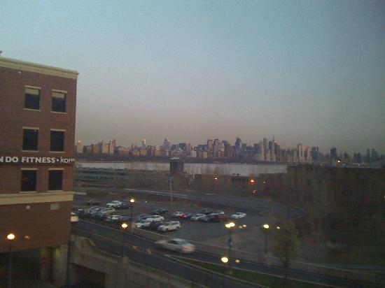 Homewood Suites by Hilton Edgewater - NYC Area: view from room 304 bedroom window