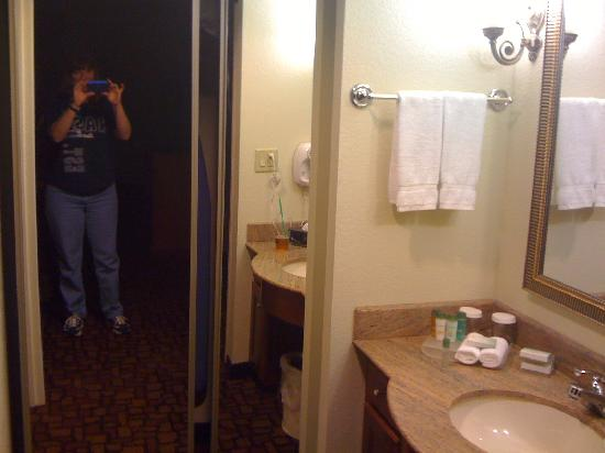 Homewood Suites by Hilton Edgewater - NYC Area: vanity and closet
