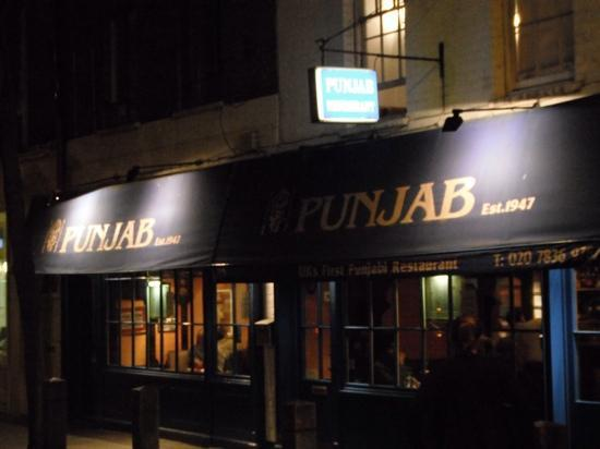 Punjab Restaurant Neal St London