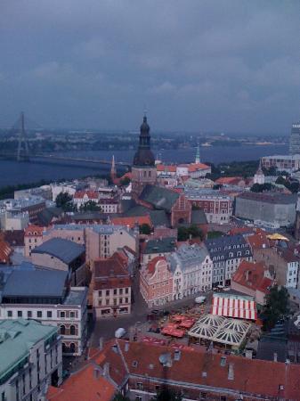 Royal Square Hotel & Suites: Rigaの風景
