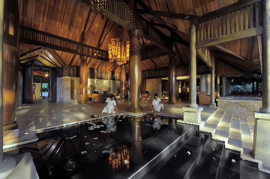 Anse Kerlan, Seychelles: Lobby