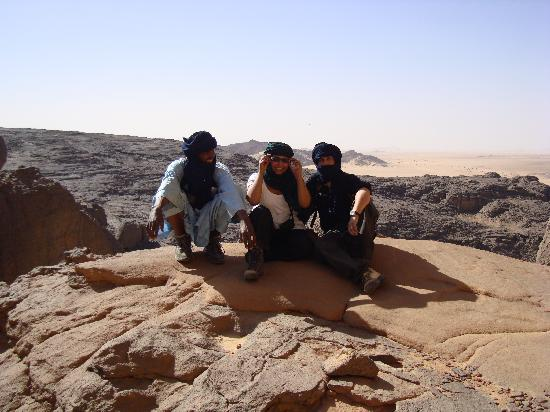 Tamanrasset, Algérie : The Missus, Bey and me