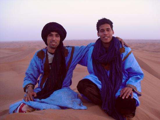 Kasbah Aladin: Two friends in their beautiful country