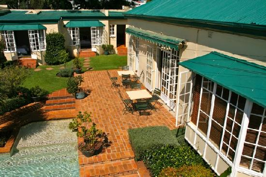 Birds Eye View of Melville Manor Guest House