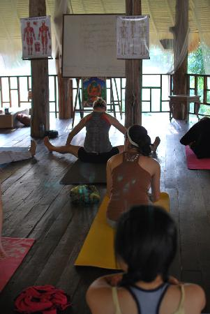 Kaomai Lanna Resort: Yoga shala