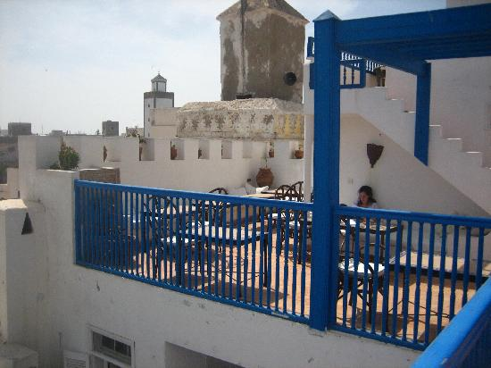 Riad Lalla Mogador: terrasse du haut