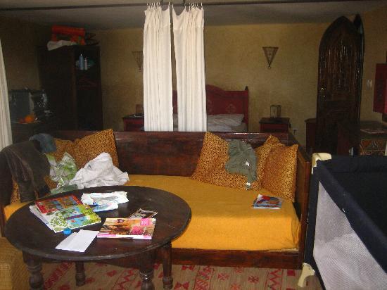 Riad Lalla Mogador: chambre du haut