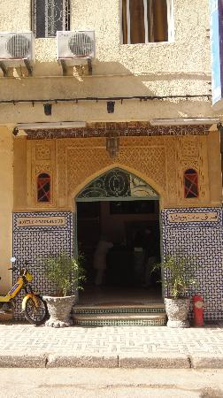 Front of Hotel Bab Boujloud Fes