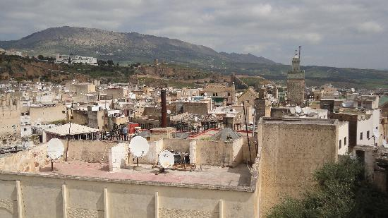 View From Hotel Bab Boujloud Roof over Fes (2)