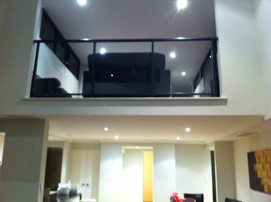Verandah Apartments Perth: Loft apartment