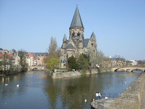 Le temple de Metz