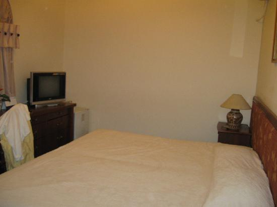 Spring Hotel: Big bed