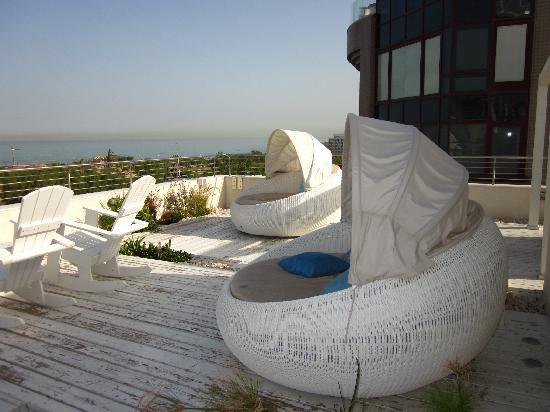 Shalom Hotel & Relax Tel Aviv - an Atlas Boutique Hotel: Roofgarden