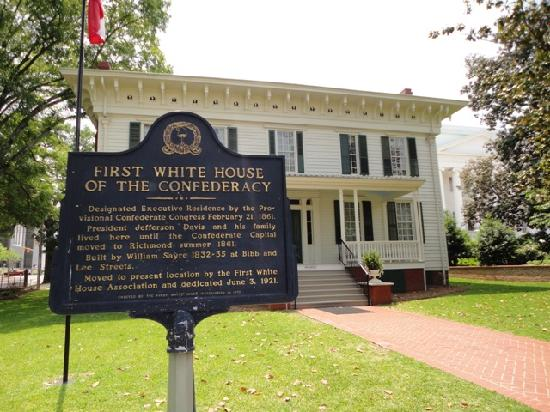 First White House of the Confederacy: The White House of the Confederacy