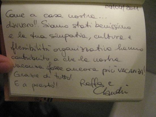 B&B Tre Gigli Firenze: i ringraziamenti!