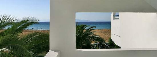Tholos, Grecia: sea view