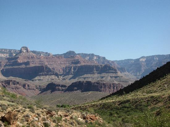 view of Grand Canyon on Bright Angel Trail