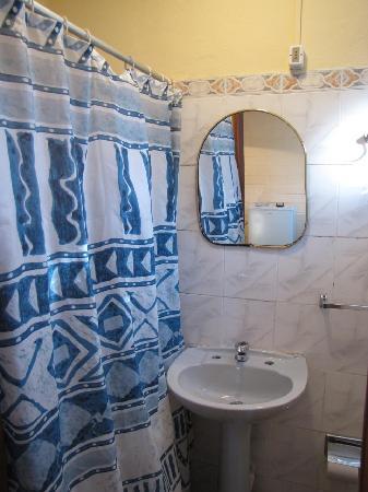 Hotel La Posada : El  baño (chiquito)
