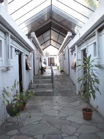 Treinta Y Tres, Uruguay : El corredor de acceso a las habitaciones