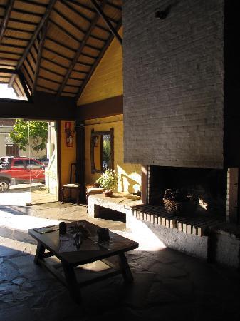 Hotel La Posada : El lobby