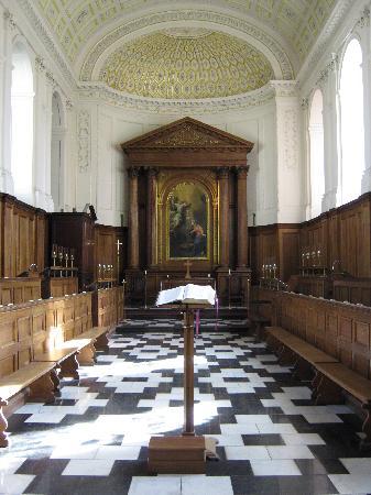 Clare College: Der Kapelle