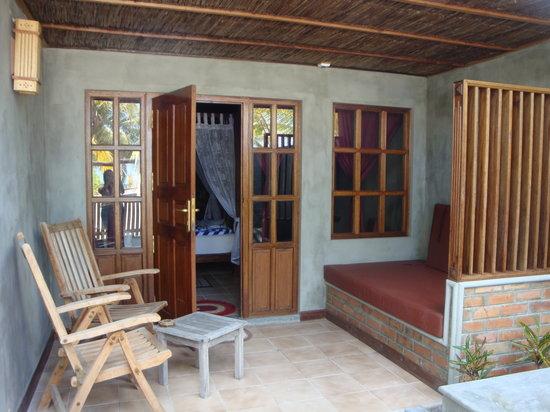 Fun Island Resort: giardino privato nuovi bungalow