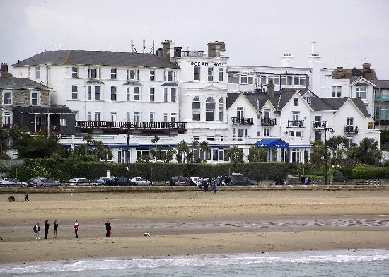 The Ocean Hotel: HOTEL FROM THE PIER