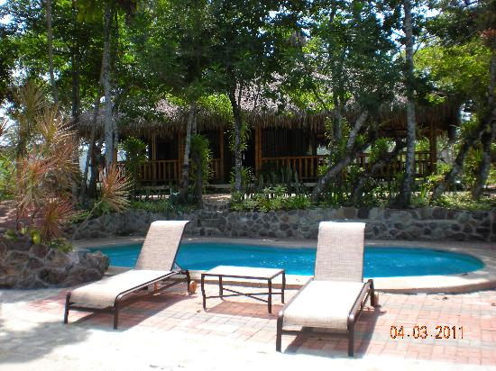Samai Ocean View Lodge Spa: Pool area