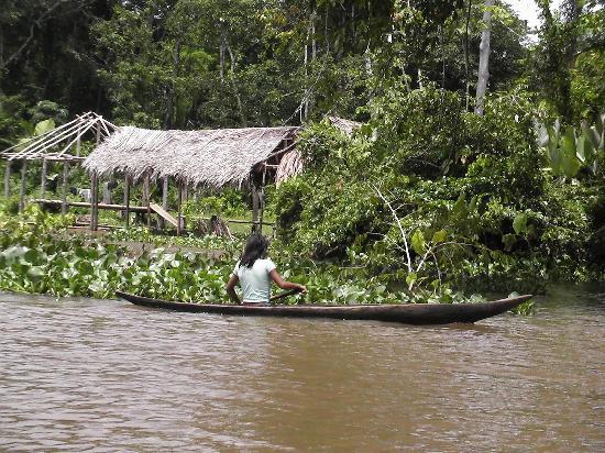 Orinoco Delta, Βενεζουέλα: Eine Einheimische
