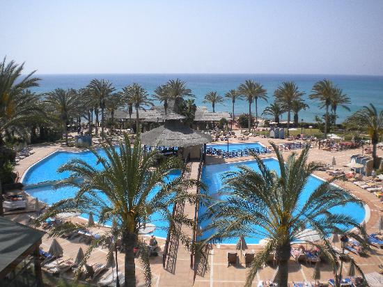 SBH Costa Calma Beach Resort : le complexe piscine