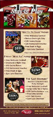 Rodeway Inn & Suites: Stay & Play Packages!