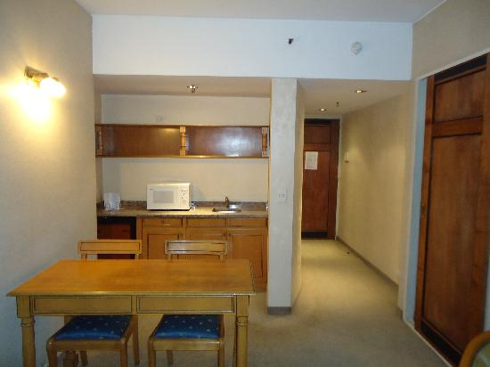 America Plaza Hotel: Quarto 407, o primeiro que fiquei...