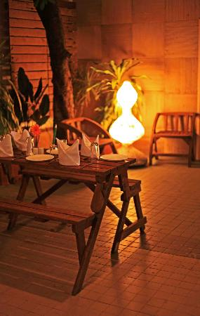 Hotel Woodland : Cabana Outdoor