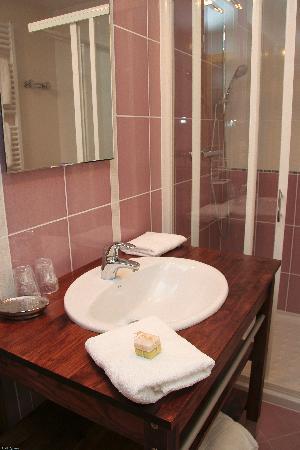 Les Chambres de Mado: salle de bain