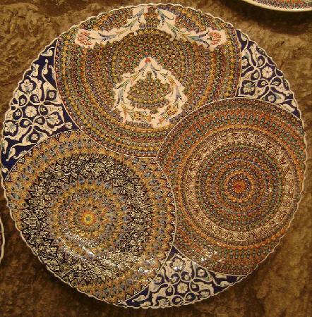 Sultans Ceramic: Three Design in One Plate