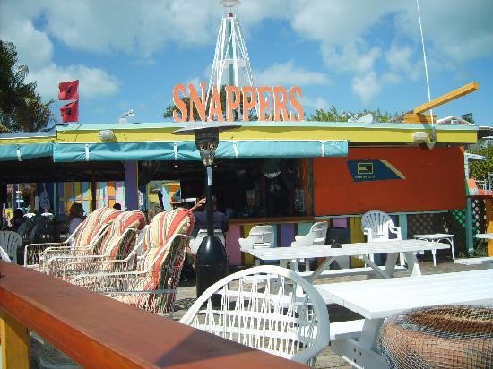 Snappers Oceanfront Restaurant Bar Key Largo Fl