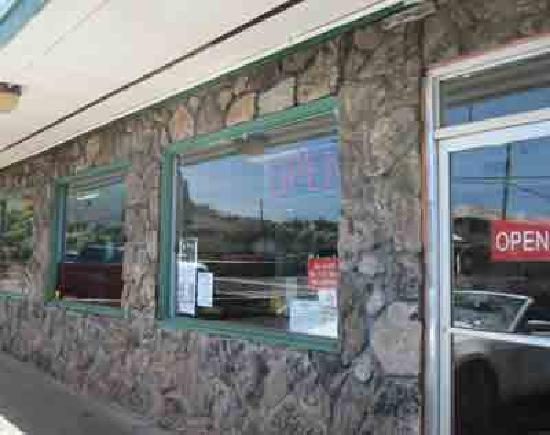 Tasty Crust Restaurant: Front Entrance