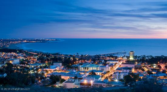 Ventura, Californië: View from Grant Park, Photo by Stephen Schafer
